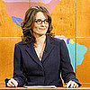 Tina Fey Spoofs Pregnant in Heels on Saturday Night Live