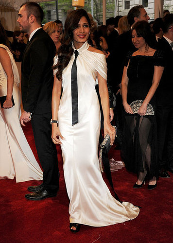 Freida Pinto in Chanel