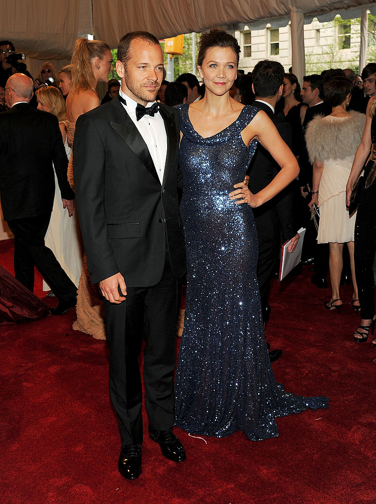 Peter Sarsgaard and Maggie Gyllenhaal in Stella McCartney