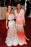 Margherita Missoni and Joy Bryant, both in Missoni