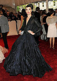Crystal Renn in Zac Posen