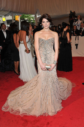 Ashley Greene in custom Donna Karan