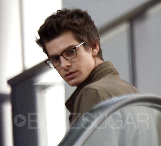 See Andrew Garfield and Emma Stone on the Set of The Amazing Spider-Man