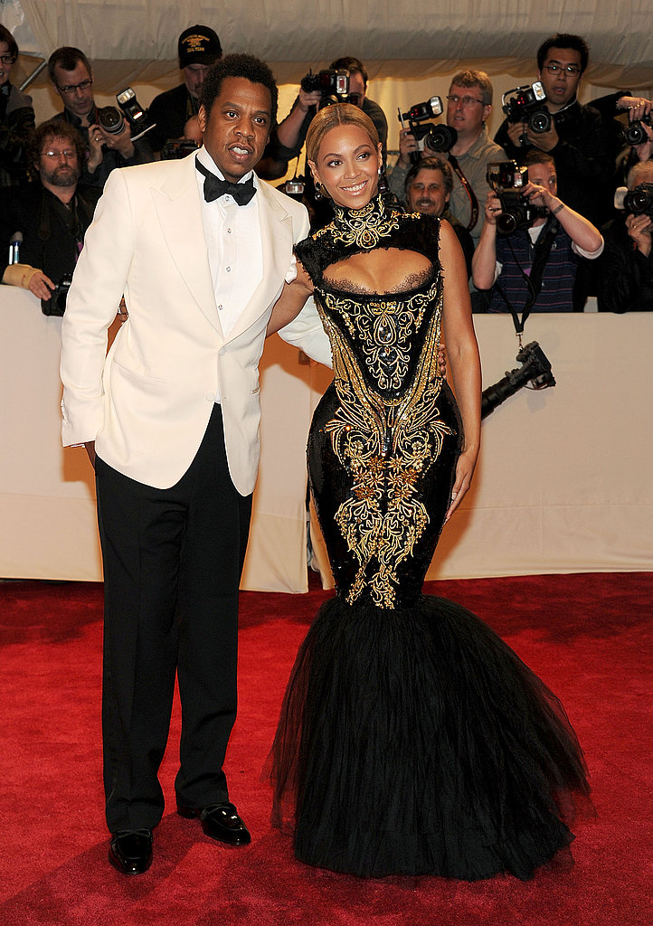 Beyoncé Dons a Tight, Daring Pucci and Jay-Z Is Quite All White For Met Gala