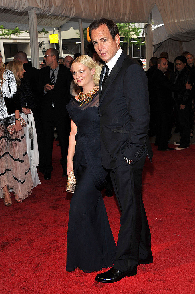 Amy Poehler and Will Arnett Make a Seriously Sexy Funny Couple at the Met Gala