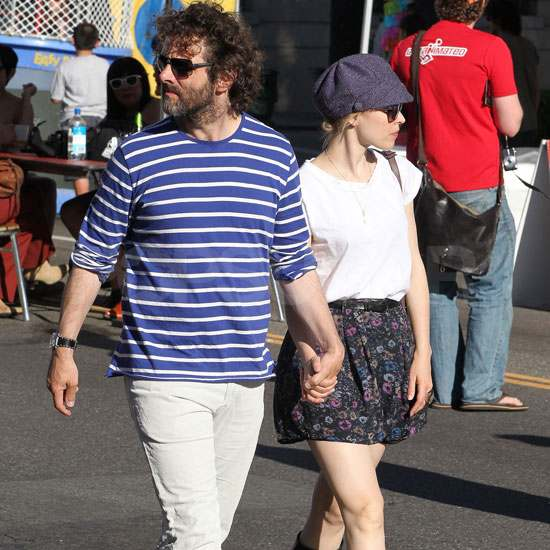 Michael Sheen and Rachel McAdams Make a Cute Undercover Couple
