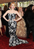 Emma Stone Comes Up Roses at 2011 Met Gala