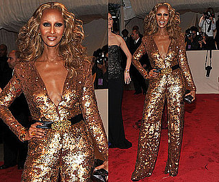 Iman at the 2011 Met Gala
