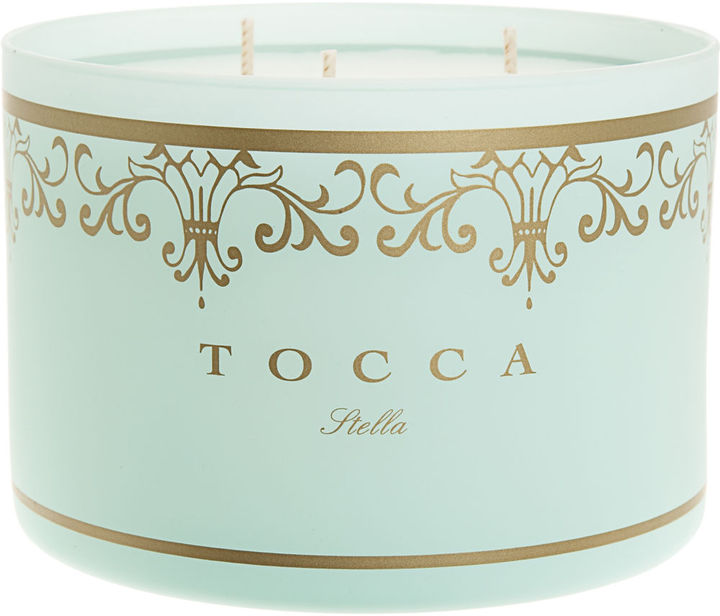 Mom's place will smell great, and every time she lights this candle, she'll think of you. Tocca Stella Deluxe Blood Orange Candle ($62)
