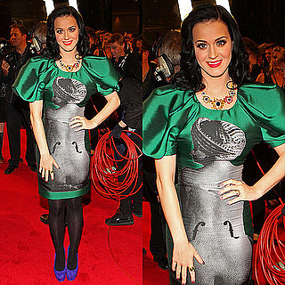 "Katy Perry's ""Nude Woman"" Dress For Logie Awards"