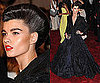 Crystal Renn at the Met Gala 2011 in Zac Posen