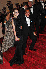 Natalia Vodianova and designer Valentino(2011 Met Gala...&quot;Alexander McQueen: Savage Beauty&quot;)
