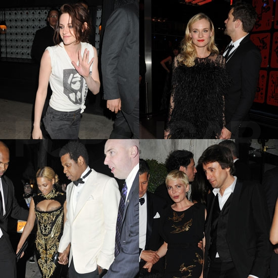 Kristen Stewart Pictures in NYC After the Costume Institute Ball With Gwyneth Paltrow, Beyonce Knowles, Michelle Williams