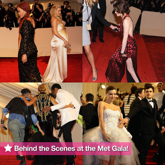 Behind-the-Scenes Photos of Kristen, Beyoncé, Gwyneth, and More From the Met Gala!