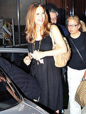 John Travolta and Kelly Preston Do Dinner With Baby Benjamin