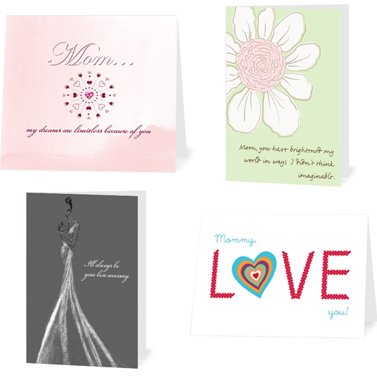 Tiny Prints Mother's Day Cards ($2-$4)