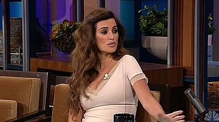 Penelope Cruz Video on The Tonight Show
