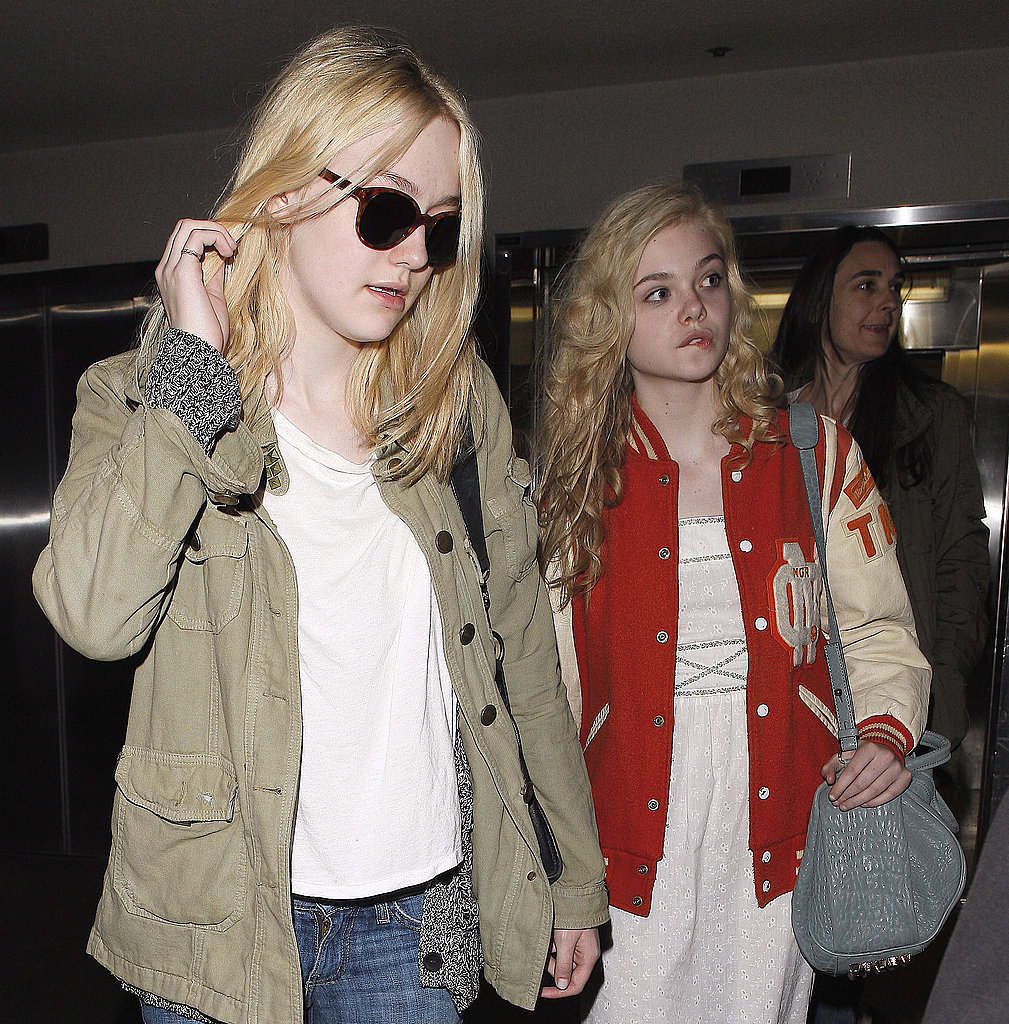 Dakota and Elle Fanning Take Their Sister Act Back Out West
