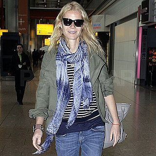 Gwyneth Paltrow Pictures Arriving Back in London After the Met Ball