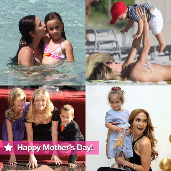 Happy Mother's Day! See Sweet Celebrity Mom Moments With Their Kids!