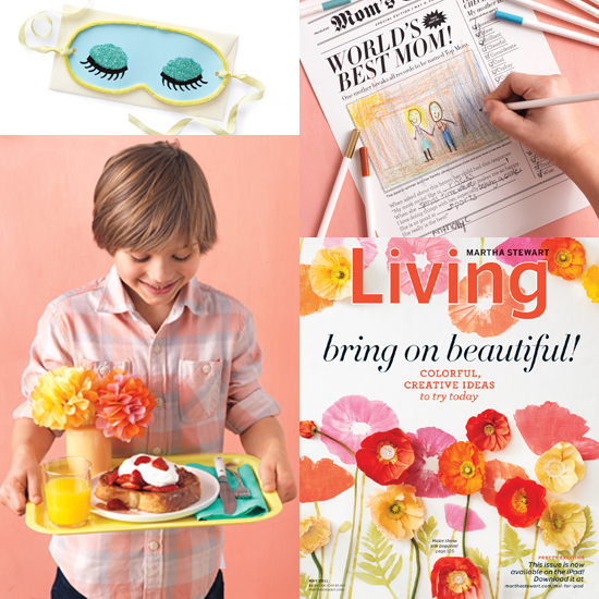Mother's Day Kids Crafts From Martha Stewart