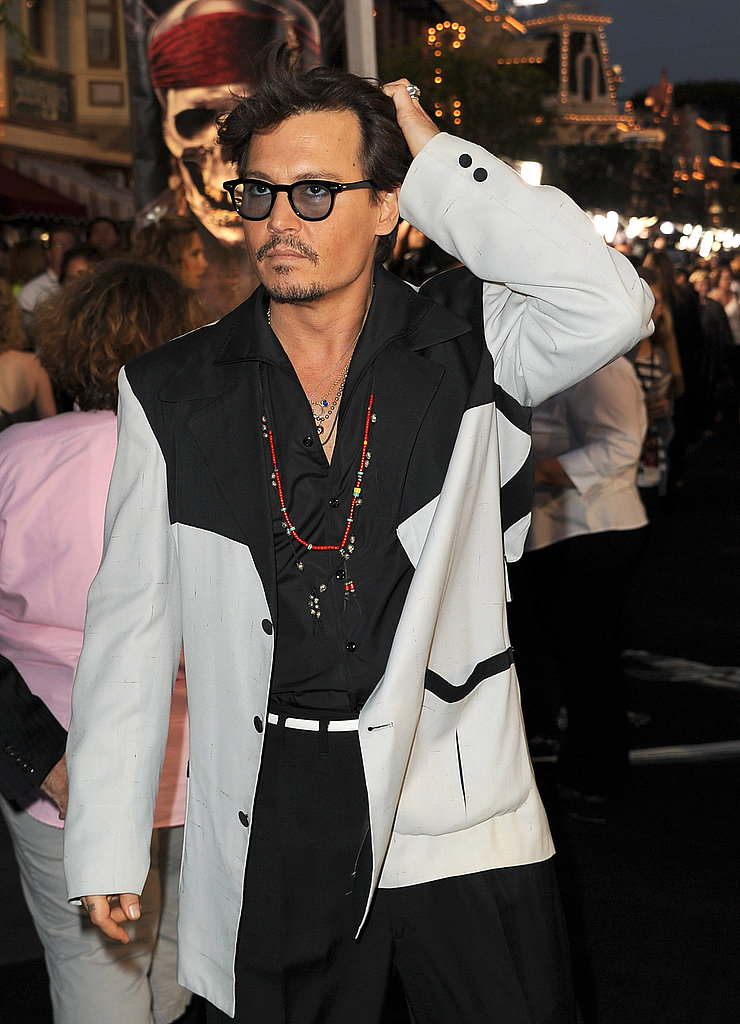 Johnny Depp and Penelope Cruz Debut Their Pirates of the Caribbean to a Crowd of Characters