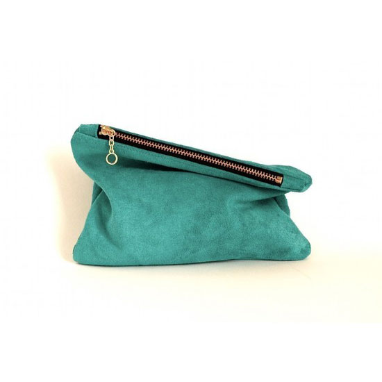 Leather Mini Clutch ($36)