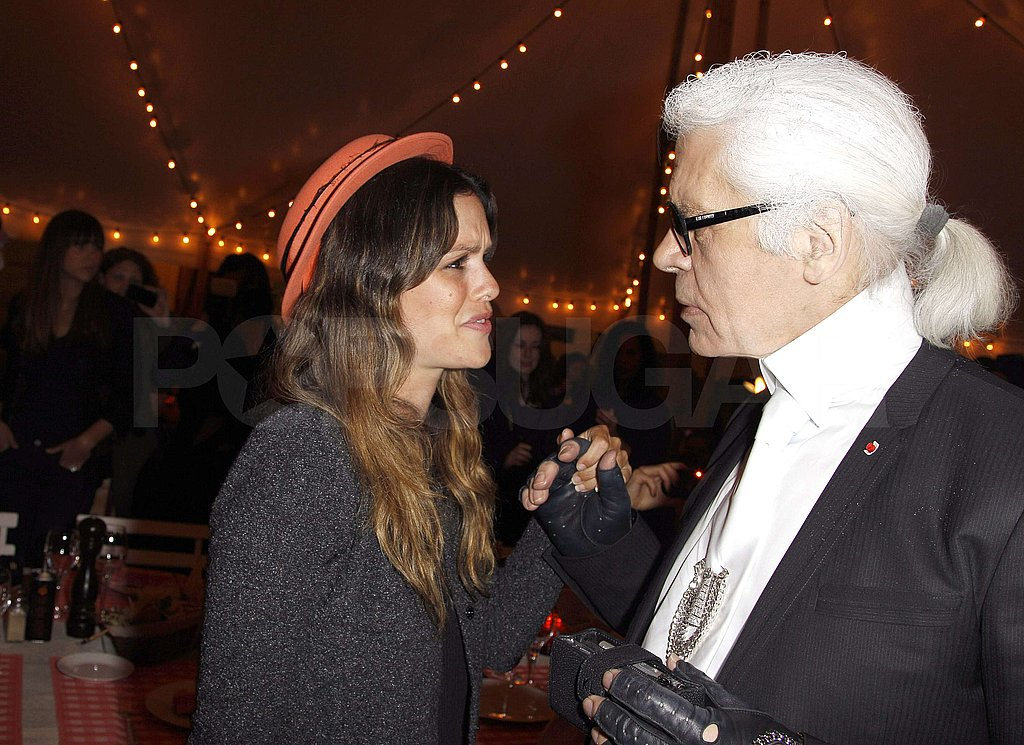 Rachel and Blake Join Karl and Their Fellow Muses For a Celebratory Chanel Dinner
