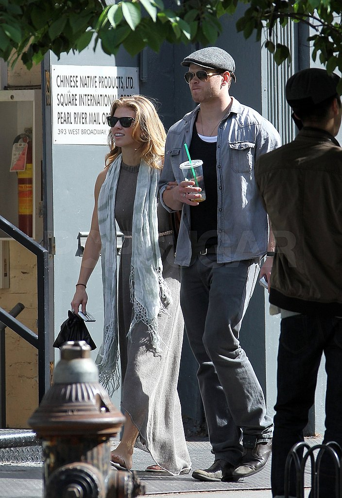 Kellan Lutz and AnnaLynne McCord Bring Their Love to NYC