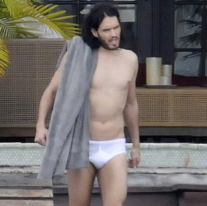 Russell Brand In his Underwear Pictures