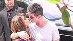 Video: Simon and Paula Reunite For The X Factor With a Kiss!