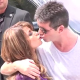 Video: Simon Cowell and Paula Abdul Kiss at The X Factor LA Auditions