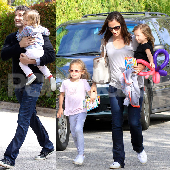 Jennifer, Ben, and the Girls Spend Mother's Day With Some Famous Friends