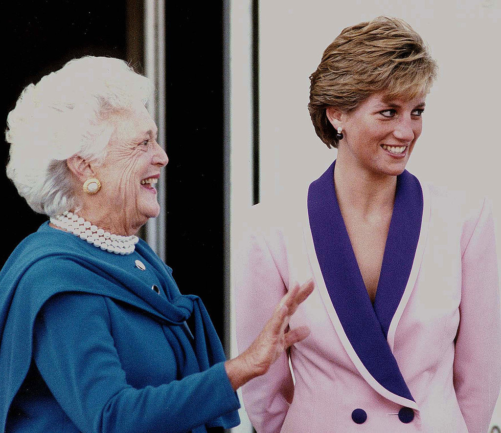 Princess Diana, 1990