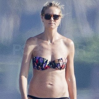 Heidi Klum Bikini Pictures in Palm Beach