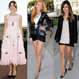 Blake Lively at Chanel Cruise 2012 Show in France
