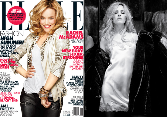 Rachel McAdams Shows Off Her Romantic Side For Elle