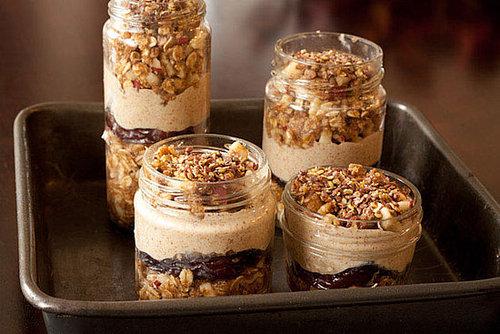 Layered Maple Oat n' Apple Dessert Jars