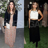 Rachel Bilson Pictures at a Derek Lam Party With X-Men Star Zoe Kravitz