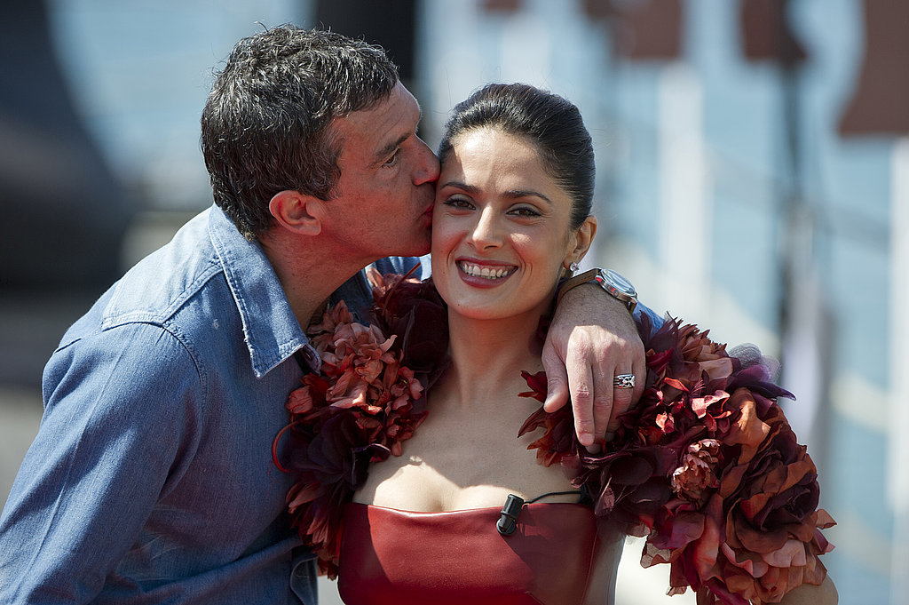 Salma Hayek and Antonio Banderas Make Cute Costars in Cannes