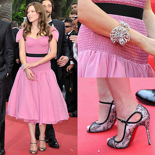 Lea Seydoux at 2011 Cannes Film Festival