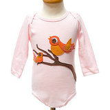 Decaf Plush Autumn Birds Onesie ($34)