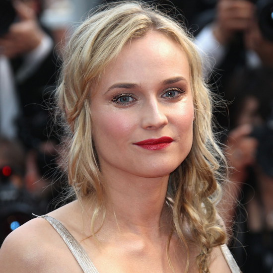 360 Degrees of Diane Kruger's Coolest Plait Yet