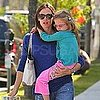 Jennifer Garner Pictures With Violet Affleck