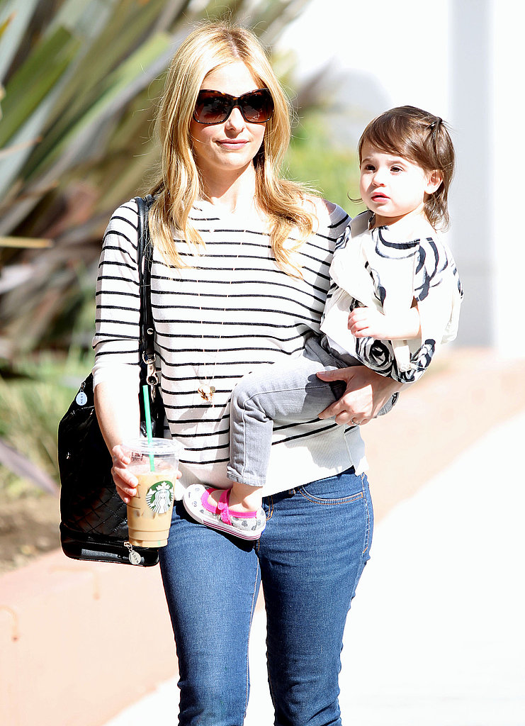Sarah Michelle Gellar Steps Out in the Sunshine With Her Little Prinze