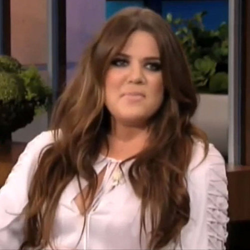 Khloe Kardashian on The Tonight Show With Jay Leno