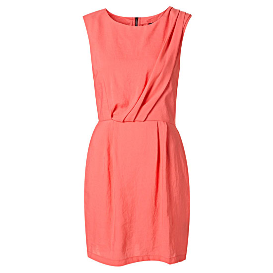 TopShop Pintuck Dress