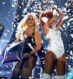 Britney Spears and Rihanna Get Sexy on Stage at the Billboard Awards