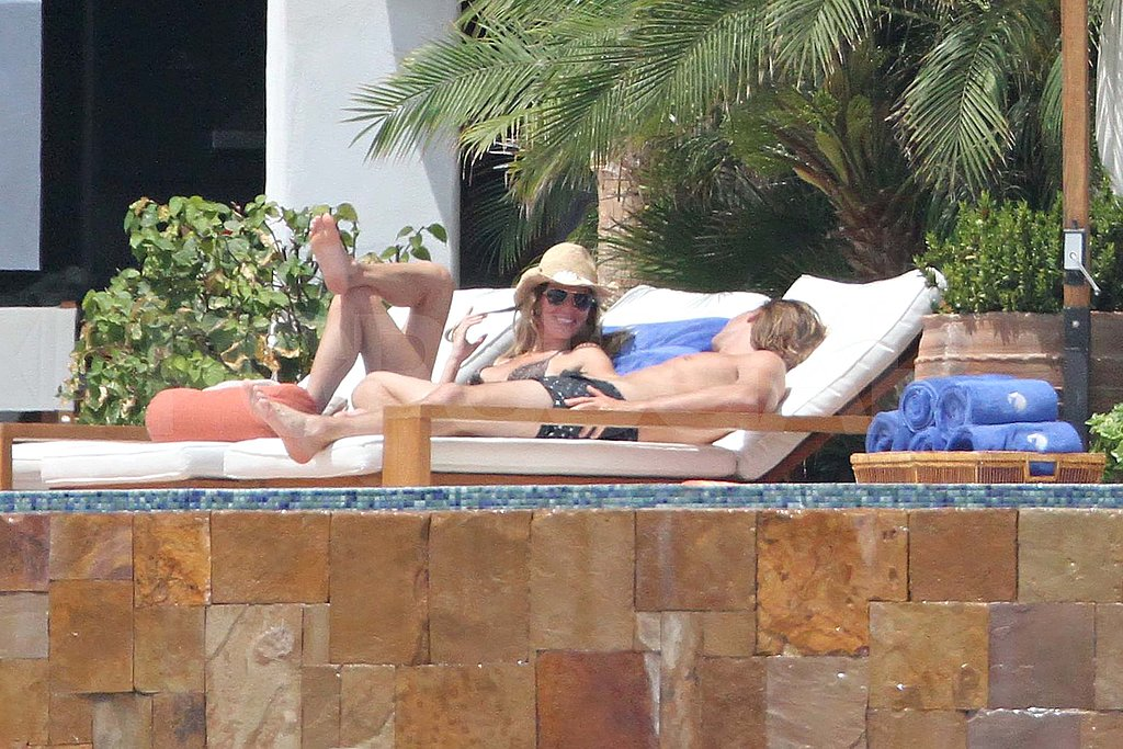 Bikini-Clad Gisele Bundchen Makes a Splash With Shirtless Tom Brady in Mexico
