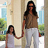 Pictures of Katie Holmes and Suri Cruise in Miami